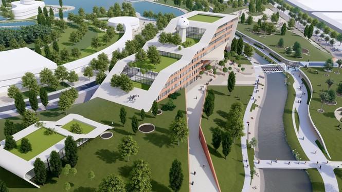 Sẽ đầu tư hơn 400 triệu đô xây dựng ĐHQG Hà Nội tại Hoà Lạc - ảnh 2