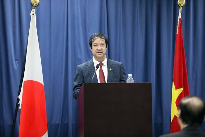 Thủ tướng Nhật Bản thăm và giao lưu với sinh viên trường ĐH Việt Nhật - ảnh 3