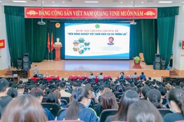 """Sinh viên tìm hiều về """"Nền nông nghiệp Việt Nam hiện tại và tương lai"""" - ảnh 2"""