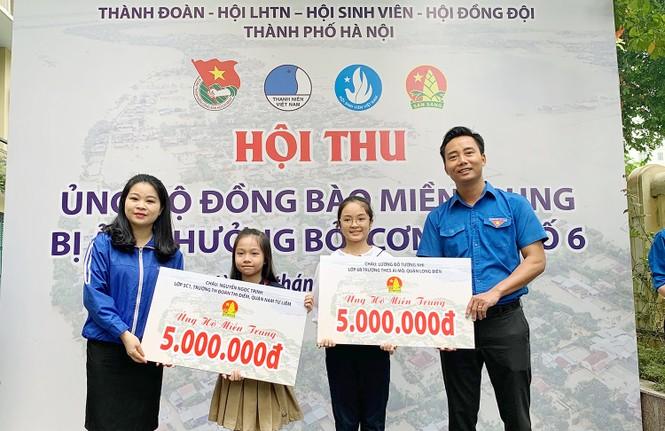 Tuổi trẻ Thủ đô ủng hộ nguồn lực, hỗ trợ đồng bào miền Trung - ảnh 1