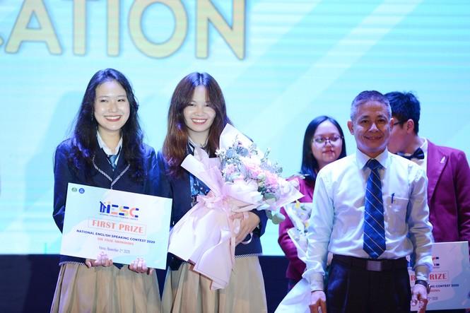 """Học sinh Quảng Ninh giành quán quân cuộc thi """"Hùng biện tiếng Anh Quốc gia 2020"""" - ảnh 2"""