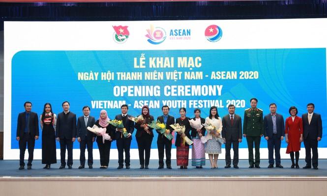 Khai mạc Ngày hội Thanh niên Việt Nam - ASEAN năm 2020 - ảnh 3