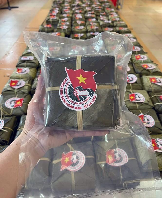 Hàng nghìn bánh chưng xanh gửi người dân và các lực lượng phòng chống dịch COVID-19 - ảnh 3