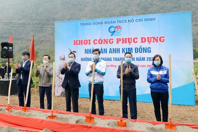 """Giáo dục truyền thống cho đội viên, thiếu niên trên """"Địa chỉ đỏ"""" nhà sàn anh Kim Đồng - ảnh 3"""