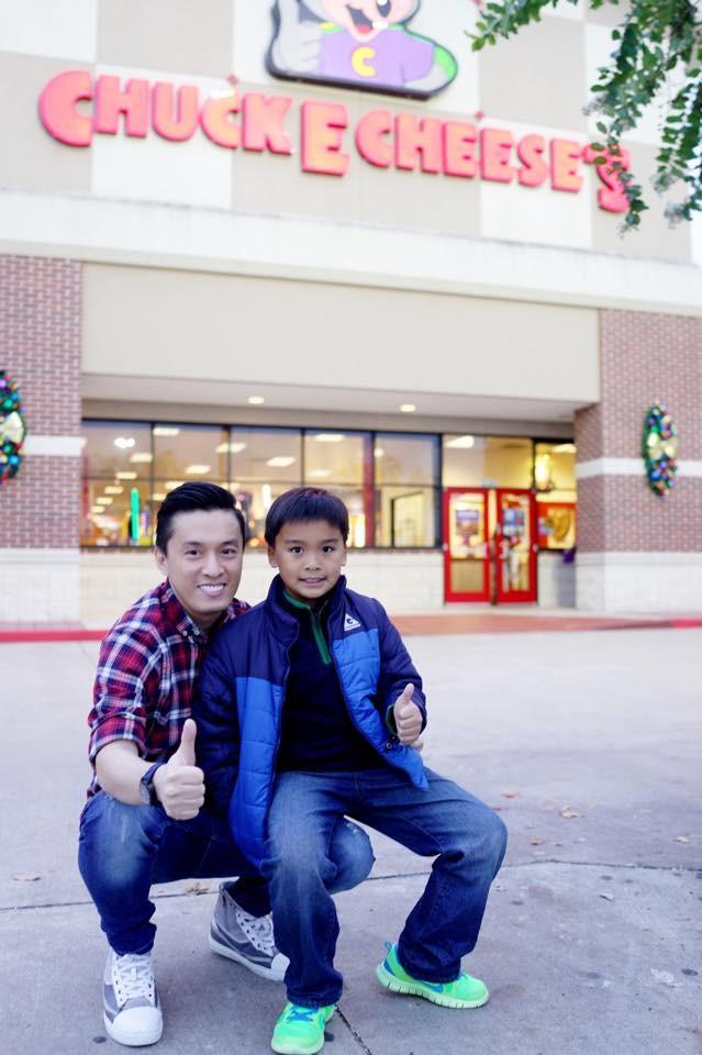 Lam Trường gặp con trai trên đất Mỹ  - ảnh 2