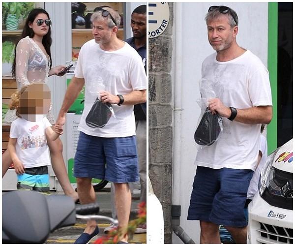 Bỏ mặc Chelsea, Abramovich thư giãn trên du thuyền đắt nhất thế giới - ảnh 1