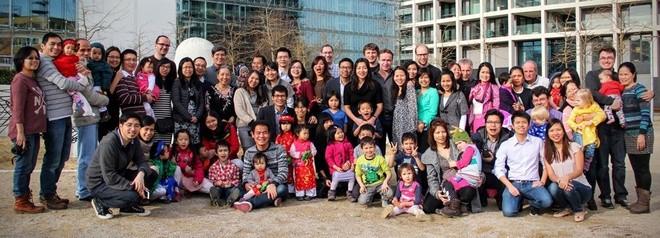 Người Việt xa xứ vui Tết, gây quỹ giúp trẻ em vùng cao - ảnh 8