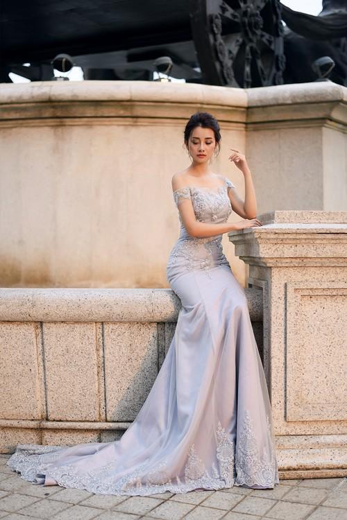 Vẻ đẹp mong manh của MC Quỳnh Chi khi hoá thành cô dâu - ảnh 3