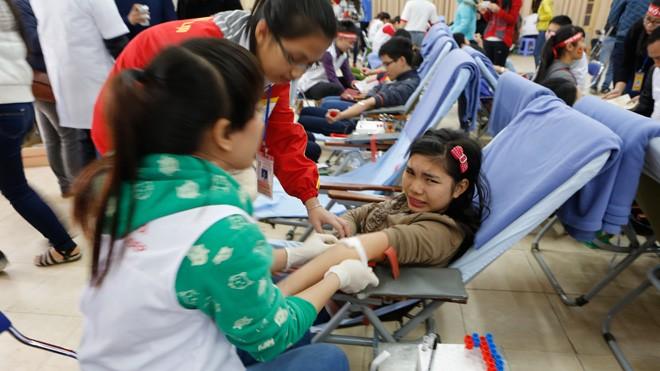 Á hậu hai lần hiến máu tại Chủ Nhật Đỏ - ảnh 2