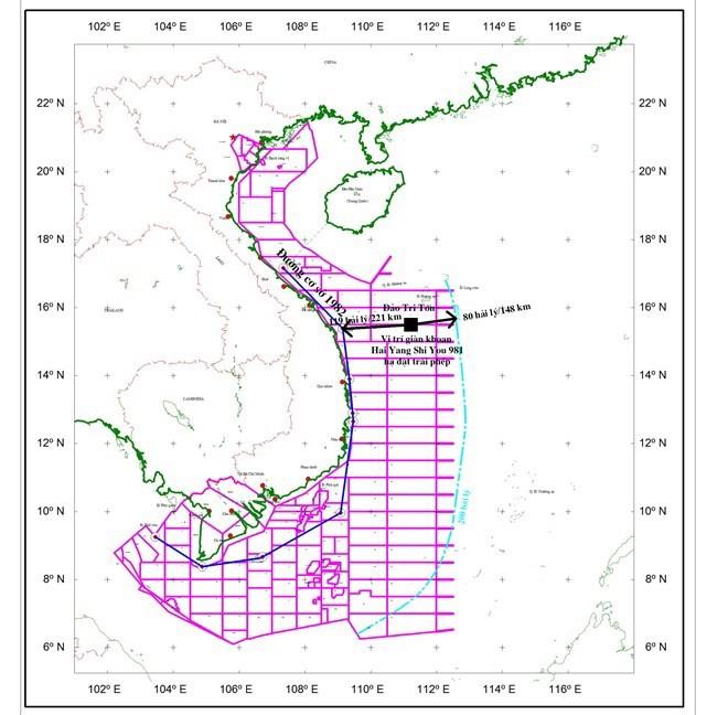 Trung Quốc đặt giàn khoan trái phép, ngư dân khốn khó - ảnh 1