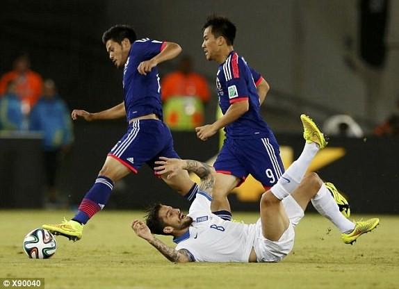 Nhật Bản-Hy Lạp (0-0): Hòa tẻ nhạt - ảnh 6