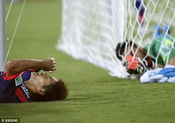 Nhật Bản-Hy Lạp (0-0): Hòa tẻ nhạt - ảnh 2