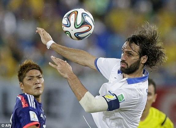 Nhật Bản-Hy Lạp (0-0): Hòa tẻ nhạt - ảnh 1