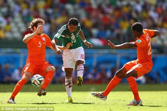 Hà Lan-Mexico (2-1): Ngược dòng siêu tưởng - ảnh 5