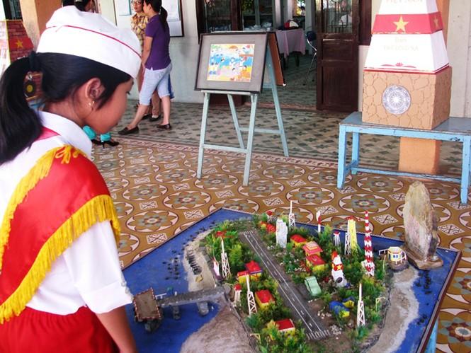 Xúc động hình ảnh Hoàng Sa, Trường Sa trong mắt trẻ thơ - ảnh 2