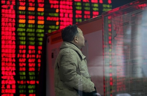Chứng khoán Trung Quốc giảm mạnh nhất thế giới - ảnh 1