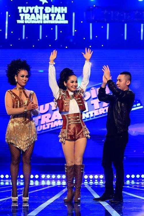 Bị đồn mua giải, Trang Nhung vẫn bị loại - ảnh 2