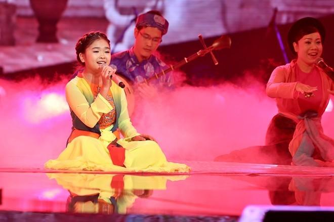 Thiện Nhân đăng quang Giọng hát Việt nhí 2014 - ảnh 10