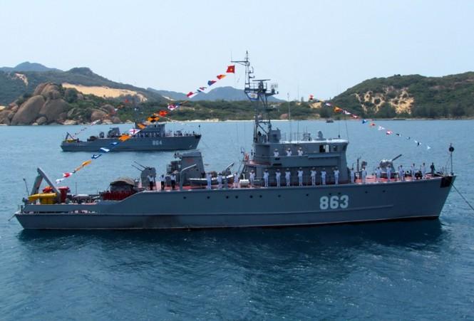 [ẢNH] Dàn vũ khí tối tân của Hải quân Việt Nam duyệt đội hình - ảnh 19