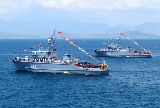 [ẢNH] Dàn vũ khí tối tân của Hải quân Việt Nam duyệt đội hình - ảnh 20