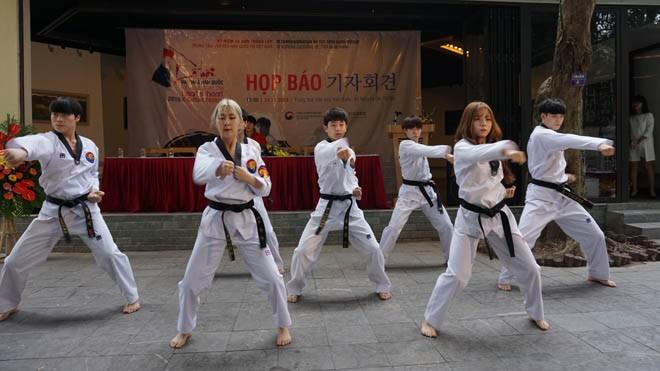 Xem ảo thuật gia Hàn Quốc diễn và K-Tigers múa Taekwondo - ảnh 2