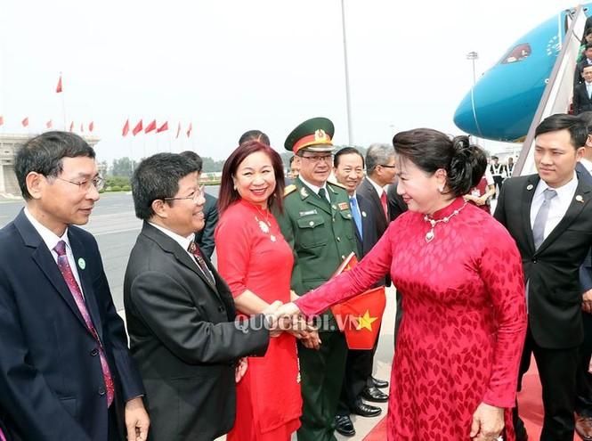 Chủ tịch Quốc hội Nguyễn Thị Kim Ngân đến thủ đô Bắc Kinh, Trung Quốc - ảnh 4