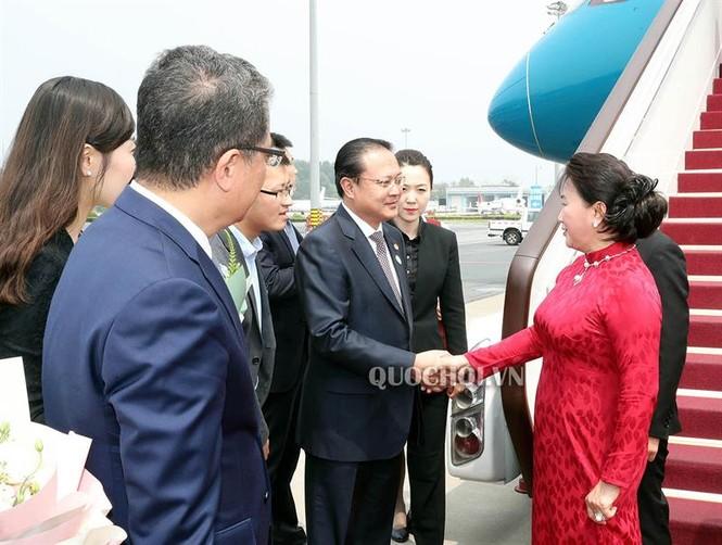 Chủ tịch Quốc hội Nguyễn Thị Kim Ngân đến thủ đô Bắc Kinh, Trung Quốc - ảnh 5