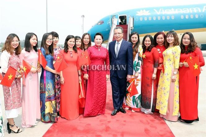 Chủ tịch Quốc hội Nguyễn Thị Kim Ngân đến thủ đô Bắc Kinh, Trung Quốc - ảnh 6