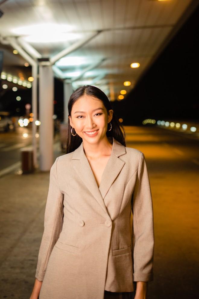 Hoa khôi ĐH Hutech thử sức tại cuộc thi Hoa khôi Sinh viên Thế giới 2019 - ảnh 1