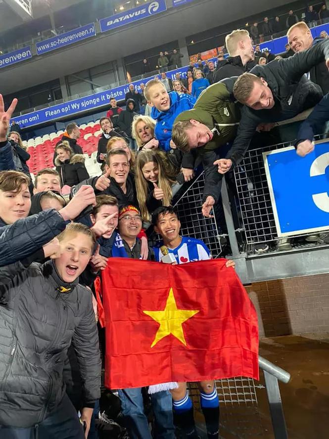 Văn Hậu thi đấu 4 phút cuối trận đấu của Heerenveen ở cúp Quốc gia Hà Lan  - ảnh 2