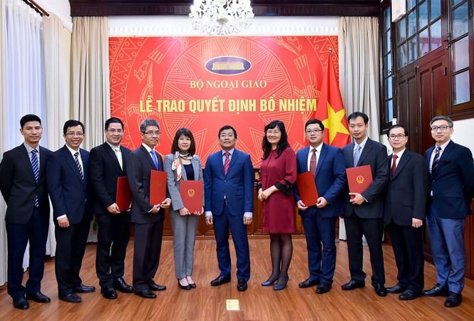 Bổ nhiệm nhân sự Văn phòng Quốc hội, Bộ Ngoại giao - ảnh 1