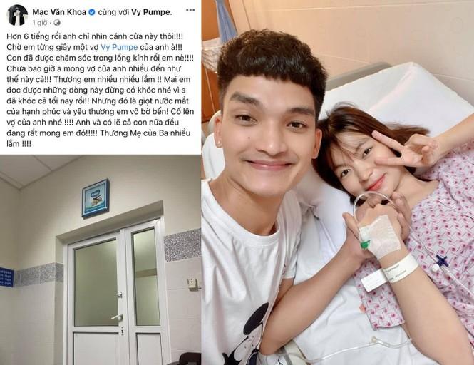 Dàn sao Việt chúc mừng vợ chồng Mạc Văn Khoa đón con gái đầu lòng  - ảnh 1