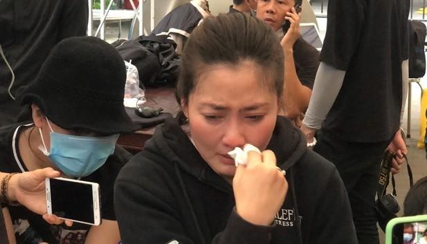 Ngọc Lan lên tiếng khi mặc trang phục màu hồng tới lễ tang nghệ sĩ Chí Tài  - ảnh 2