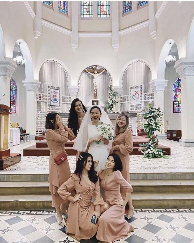 Dàn mỹ nhân Việt năm đầu đón Tết tại nhà chồng - ảnh 1