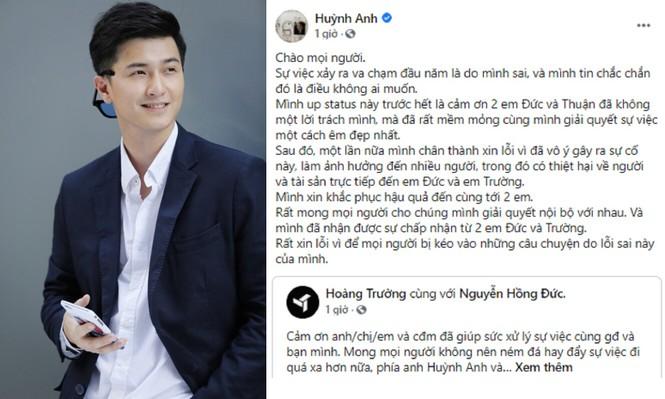Diễn viên Huỳnh Anh lên tiếng sau khi bị tố gây tai nạn, lảng tránh bồi thường  - ảnh 2