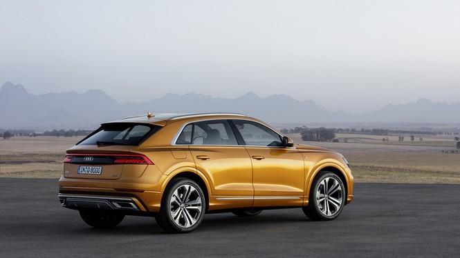 Audi Q8 2019 chính thức ra mắt, chung khung gầm với Lamborghini Urus - ảnh 1