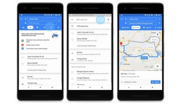 Viêt Nam là nước tiếp theo được cập nhật Google Maps cho xe máy? - ảnh 1
