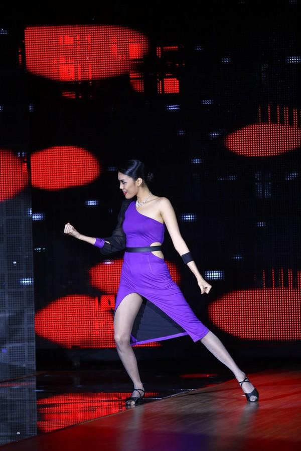 Lan Khuê sexy, 'đốt cháy' sân khấu Bước Nhảy Hoàn Vũ - ảnh 2