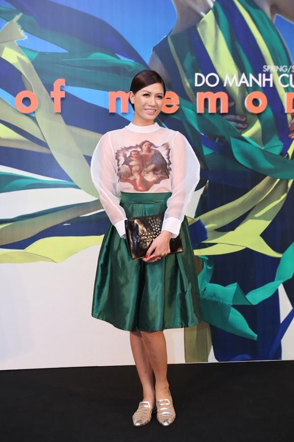 Hoa hậu Thu Thảo kiêu sa lấn át dàn mỹ nhân  - ảnh 9
