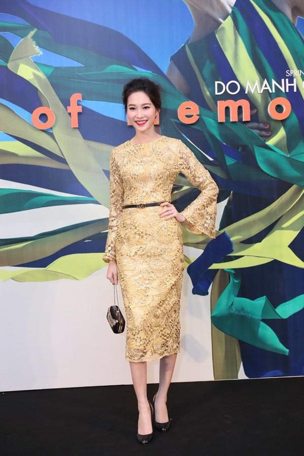 Hoa hậu Thu Thảo kiêu sa lấn át dàn mỹ nhân  - ảnh 3