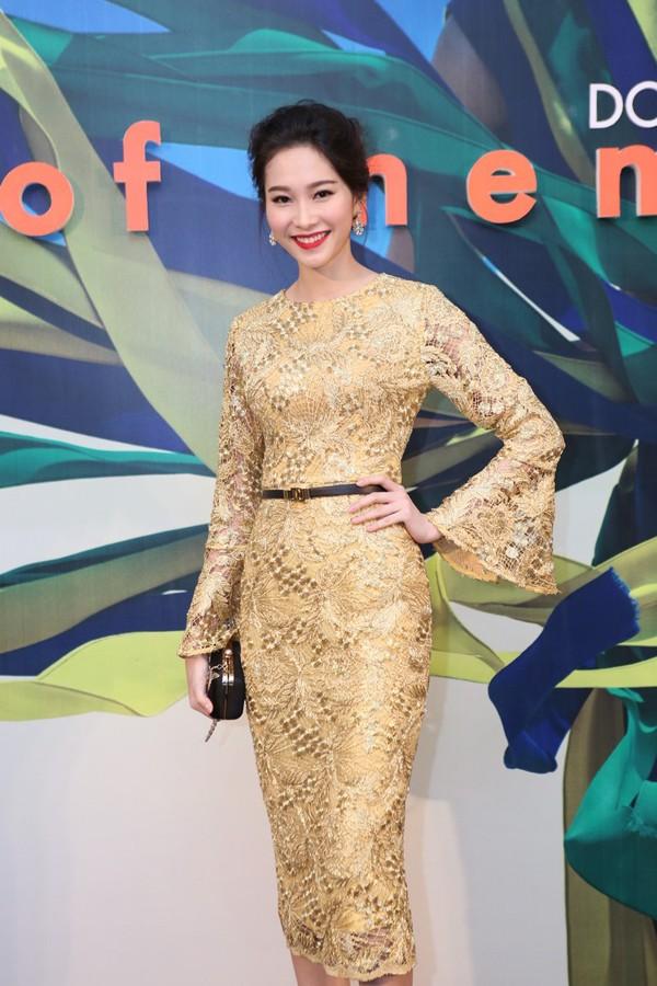 Hoa hậu Thu Thảo kiêu sa lấn át dàn mỹ nhân  - ảnh 1