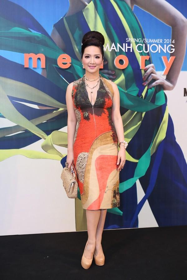 Hoa hậu Thu Thảo kiêu sa lấn át dàn mỹ nhân  - ảnh 6