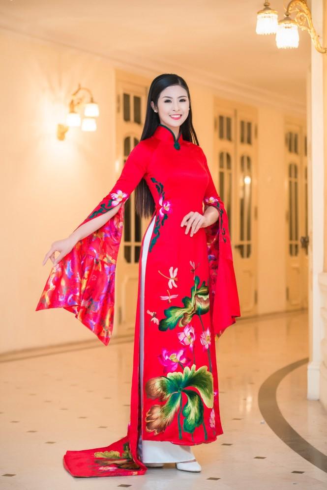 Hoa hậu Ngọc Hân hội ngộ Á hậu Huyền My tại Hà Nội - ảnh 7