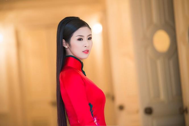 Hoa hậu Ngọc Hân hội ngộ Á hậu Huyền My tại Hà Nội - ảnh 6