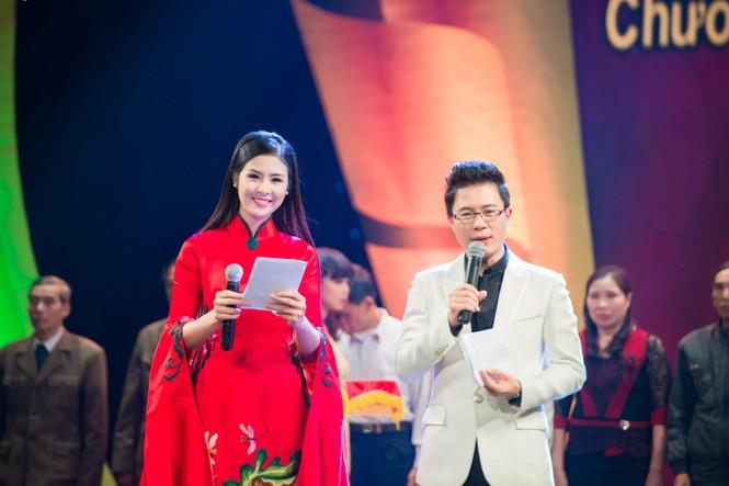 Hoa hậu Ngọc Hân hội ngộ Á hậu Huyền My tại Hà Nội - ảnh 1