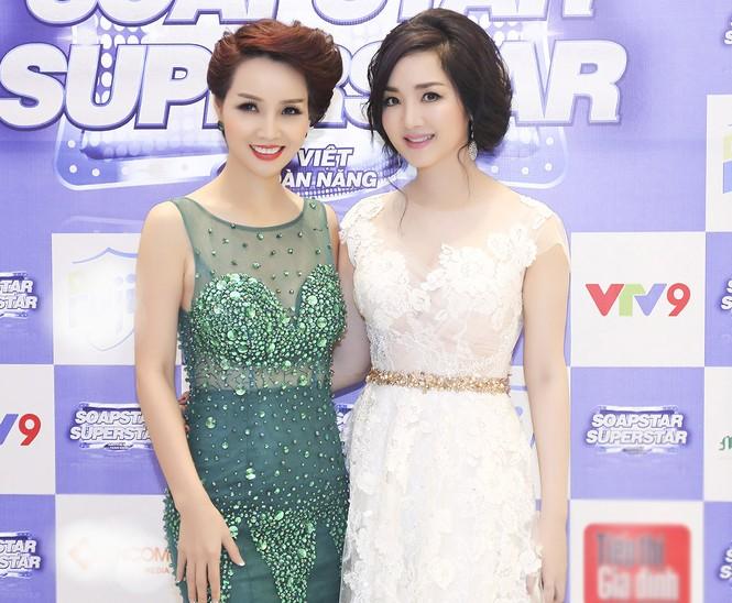 Hoa hậu Giáng My tự tin song ca cùng ca sĩ Ngọc Anh - ảnh 5