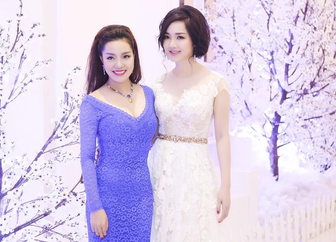 Hoa hậu Giáng My tự tin song ca cùng ca sĩ Ngọc Anh - ảnh 6