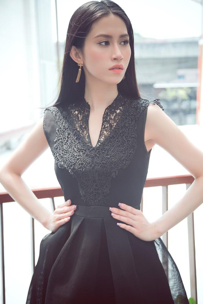 Hoa hậu Đông Nam Á Triều Thu khoe eo thon quyến rũ - ảnh 9