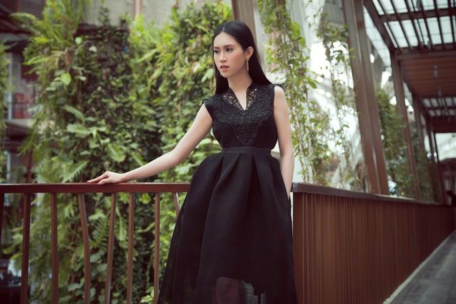 Hoa hậu Đông Nam Á Triều Thu khoe eo thon quyến rũ - ảnh 11