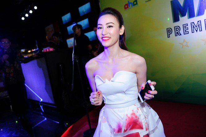 Ngân Khánh lộng lẫy ra mắt phim mới trước khi rời bỏ showbiz - ảnh 4